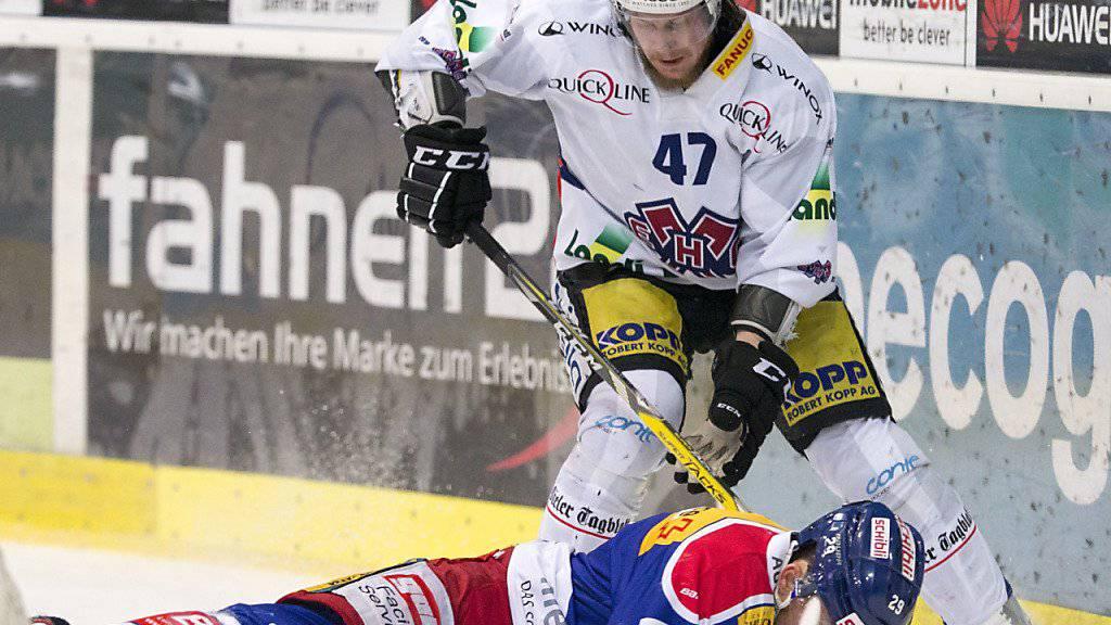 Biel Spieler Marco Maurer hat in Zug einen Dieb gestoppt.