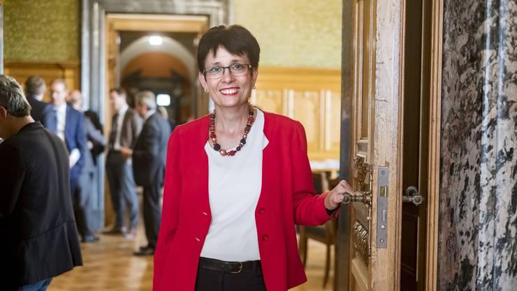 Fühlt sich als Parlamentarierin durch und durch: Nach dem Baselbieter Landrat ziehts Elisabeth Augstburger nun ins Bundesparlament.