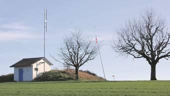 Die Netzantenne der Swisscom ist beim Reservoir geplant