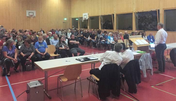 In mehreren Gemeinden wird eine geheime Abstimmung verlangt, etwa in Rietheim.