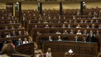 Blick ins spanische Parlament (Archiv)