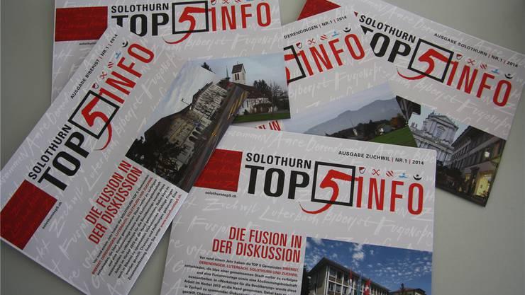 Der Solothurner Gemeinderat steht überwiegend zum Fusionsvertrag Top 5. (Foto: Wolfgang Wagmann)