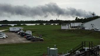 Explosion auf Cape Canaveral