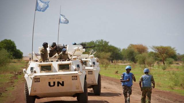 UNO-Blauhelme in Abyei (Archivbild)