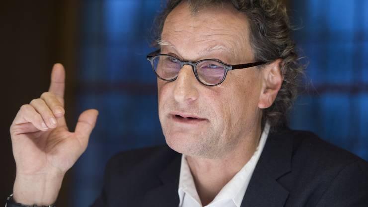 Geri Müller gibt bekannt, dass er im Herbst 2017 wieder als Stadtammann kandidieren werde.