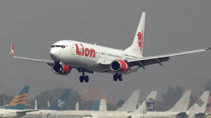Flug JT-610 der indonesischen Linie Lion Air ist abgestürzt. (Archiv)