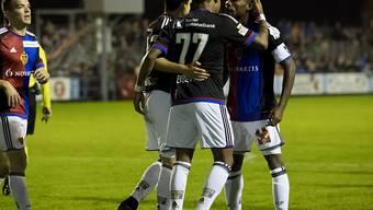 Der FC Basel erfüllt in Tuggen die Pflicht und feiert einen ungefährdeten 4:1-Sieg
