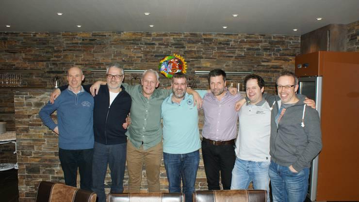 v.l.: Georg Berger, Rolf Studer, Alois Borer, Christian Kunz, Roman Baumann, Roman Marbet, Marcel Jenny (es fehlt David Motschi)