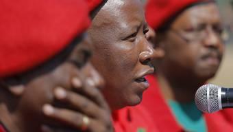 EFF-Chef Julius Malema  will keine Koalition eingehen