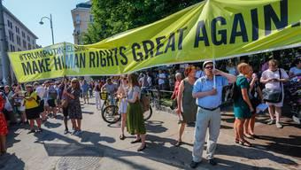 Martin Mosimann: «Die Menschenrechte, die Gleichstellung der Geschlechter, die Meinungsfreiheit oder die Idee der Toleranz anzugreifen, ist unter keinem Titel zulässig.»