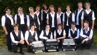 Verein mit neuem Namen: Akkordeon-Orchester Frick, hier noch im alten Tenü.