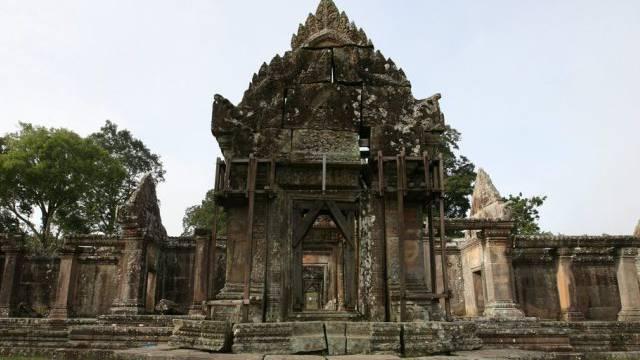 Zwei Länder streiten sich um die Tempelanlage Preah Vihear (Archiv)
