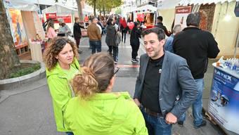 Mike Zettel (hier an der vergangenen MiO) übernimmt zusätzlich die Organisation des Markts Aarauer Gewerbetreibender.