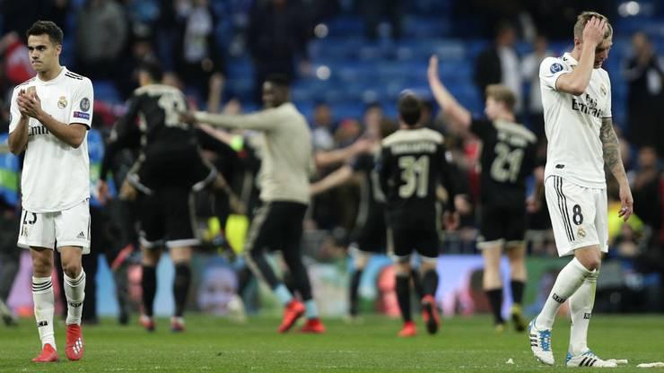 Das 1:4 am Dienstag gegen Ajax – Reals höchste Heimniederlage in der Champions League – hat eindrücklich das Sprichwort «Hochmut kommt vor dem Fall» bestätigt.