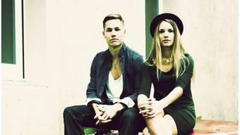 Michael und Daniela Heiniger aus Menziken von der Band SilverBlue.