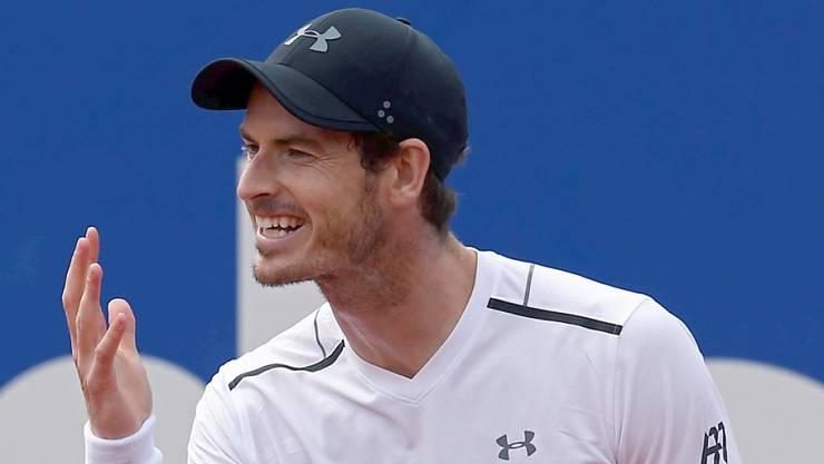 Andy Murray hadert mit seinem Spiel