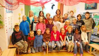 Sie haben die Grundstufe besucht oder sie besuchen sie immer noch: Murianer Kinder sagen, dass es ihnen dort gefällt. (es)