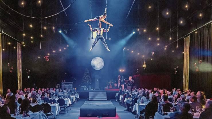 Kein feines Essen mit zauberhafter Zirkus-Unterhaltung – Monti's Varieté 2020 musste wegen Corona abgesagt werden.