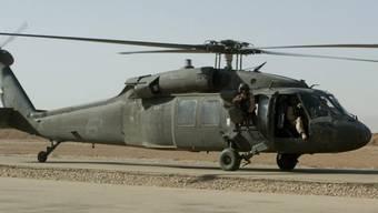 Baupläne von Black-Hawk-Helikoptern sollen gestohlen worden sein