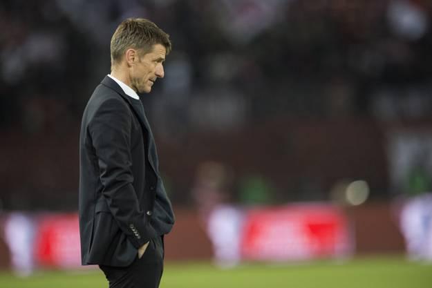 FCZ- Trainer Urs Meier.