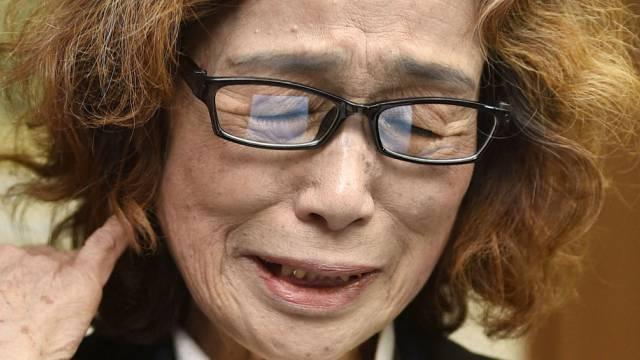 Mutter in Trauer: Junko Ishido nach Todesnachricht von Kenji Goto