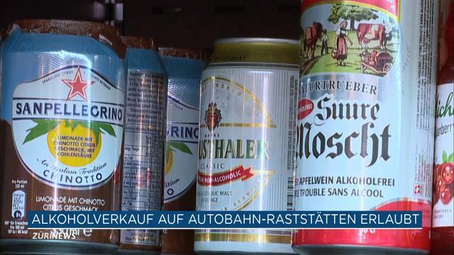 Alkohol definitiv für Autobahnen freigegeben