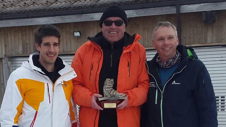 Platz 1: Heinz Lerf / Platz 2: Marc Scherrer / Platz 3: Markus Dietschi