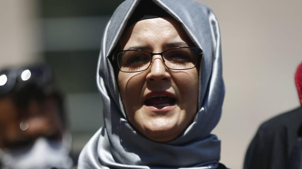 Khashoggis Verlobte Cengiz kritisiert Umgang mit Saudi-Arabien