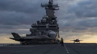 Das US-Angriffsschiff USS Wasp. (Archivbild)