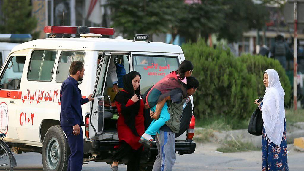 Tote und Verletzte nach Anschlag in Kabul