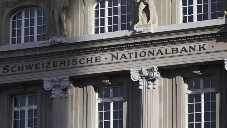 Hoher Verlust statt satter Gewinn: die Schweizerische Nationalbank. (Archiv)