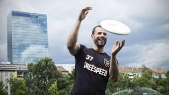 Robin Brüderlin spielt seit 14 Jahren beim Verein Freespeed.