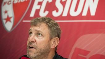 Sions Trainer Stéphane Henchoz hat keine leichte Zeit