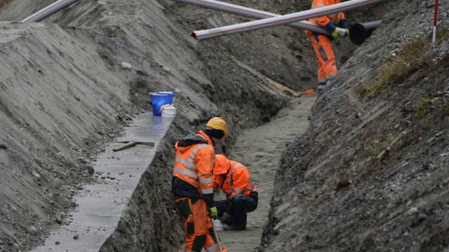 Die Arbeiter waren vermutlich belastetem Beton ausgesetzt (Archiv)