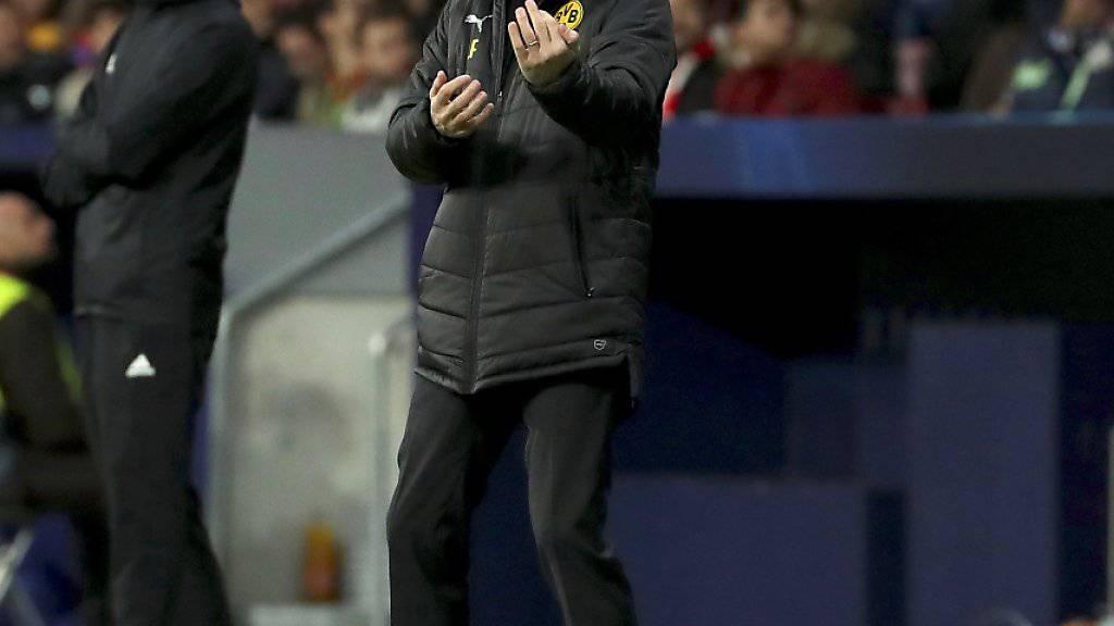 Lucien Favre kassiert als BVB-Coach seine erste Pflichspielniederlage