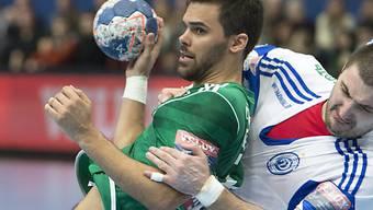 Lukas von Deschwanden war mit sieben Treffern Thuns bester Werfer