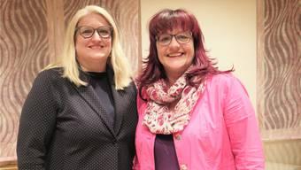 Sie engagieren sich für die Sozialregion Thal-Gäu: Fabienne Schmid aus Niederbuchsiten (l.) im Vorstand des Zweckverbands und Linda Bader aus Oensingen in der Spezialkommission.