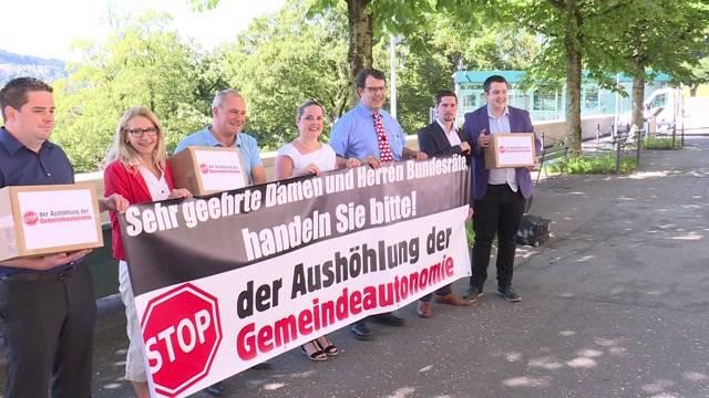 Protestbriefe an Bundesrat