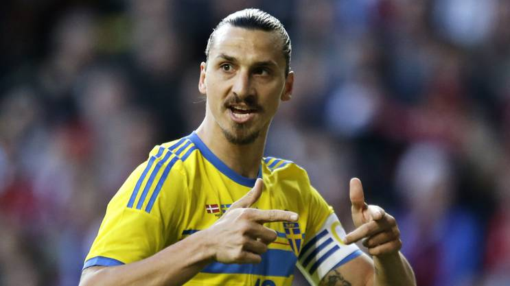 Spielt 2016 mit Schweden wohl seine letzte EM: Zlatan Ibrahimovic