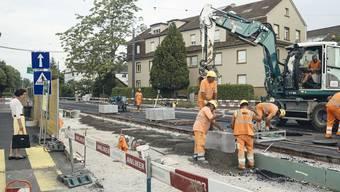 Sanierung Ortsdurchfahrt, Baslerstrasse Allschwil