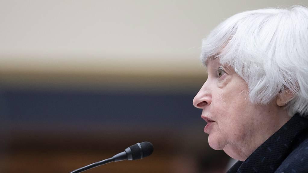 Janet Yellen warnt vor einer Rezession (Archivbild).