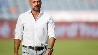 Lausanne-Trainer Giorgio Contini kann nicht mit dem Punktemaximum die Heimreise antreten
