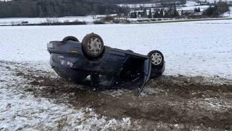 Verkehrsunfall in Dottikon, 13. Januar 2021