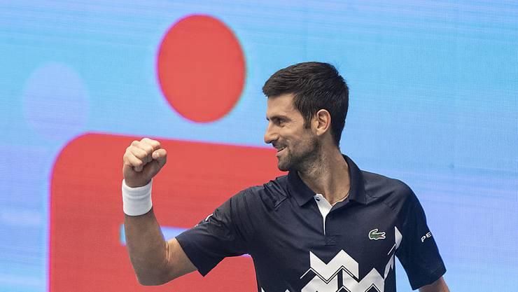 Besser war noch keiner: Novak Djokovic beendet zum 6. Mal ein Jahr als Nummer 1