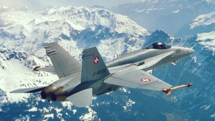 Wegen Rissen steht ein Teil der F/A-18-Flotte still.