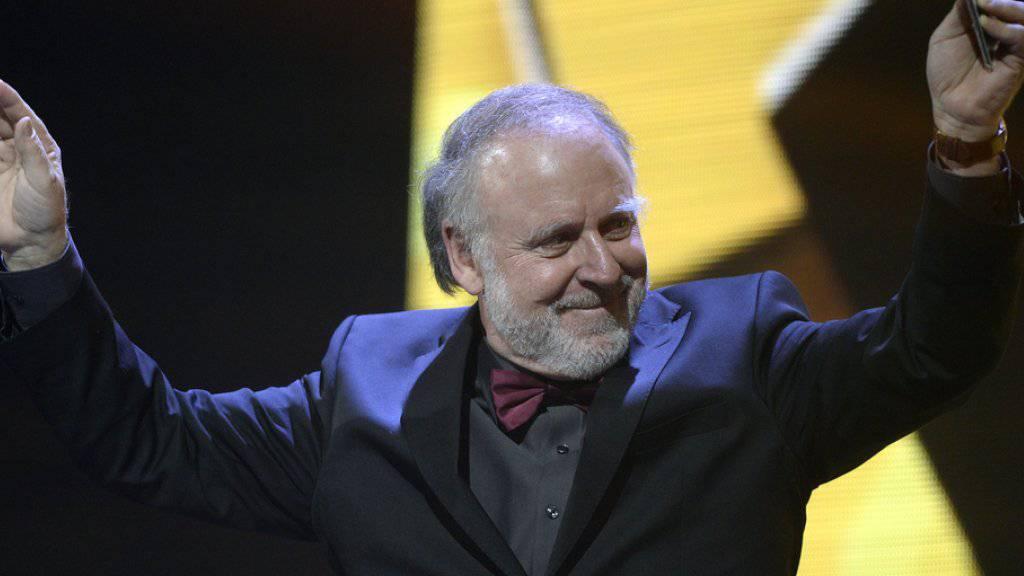 An den Swiss Music Awards konnte Peter Reber seinen aktuellen Winterfrust für einen Moment vergessen: Er genoss ganz einfach die Anerkennung von Seiten Musikbranche und Kollegen (Archiv)