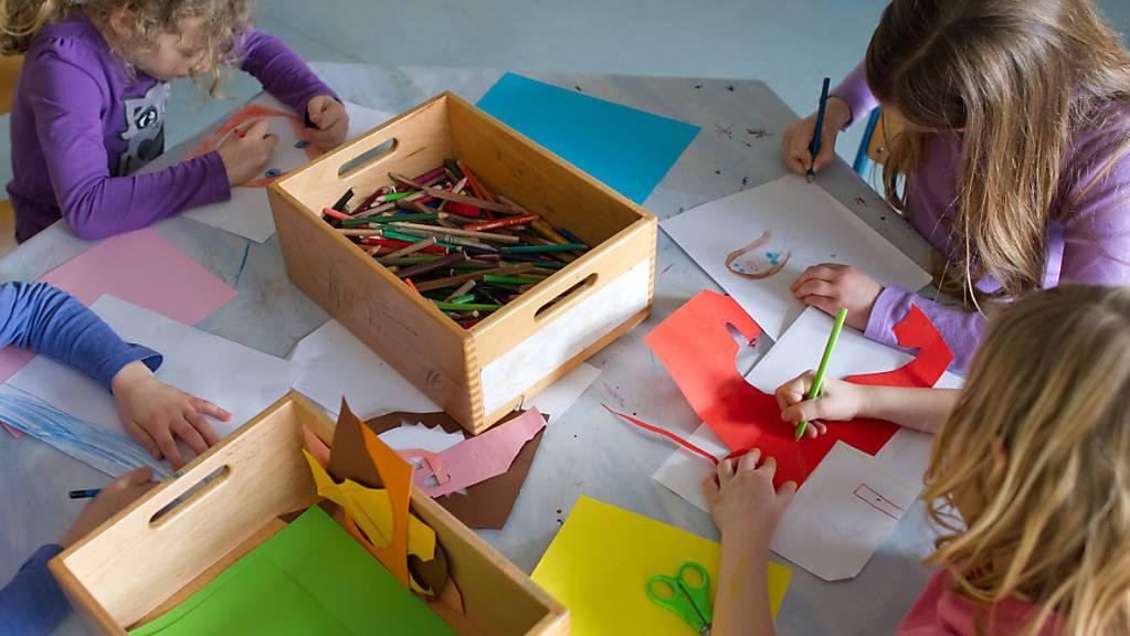 Die Thurgauer Regierung will die sprachliche Frühförderung von Kindern verstärken. Sie schlägt mit einer Gesetzesänderung ein selektives Obligatorium für solche Föderangebote vor. (Symbolbild)