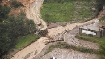 Bilder eines Erdrutsches im Bundesstaat Oaxaca (Symbolbild)