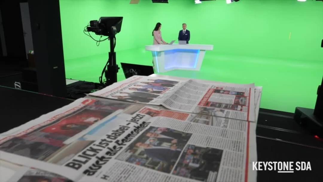 Ein Blick hinter die Blick TV-Kulissen
