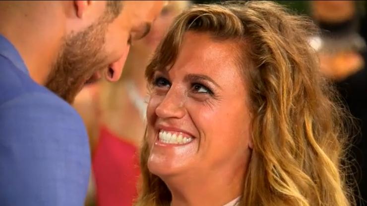 In dieser Folge hat Kay den Bachelor mehrmals beeindruckt.